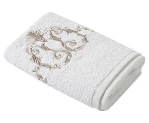 """Ręcznik do rąk """"Beautybath"""", biało-złocisty"""