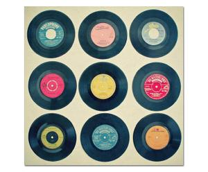 "Płótno dekoracyjne na blejtramie ""Vinyl collection"""