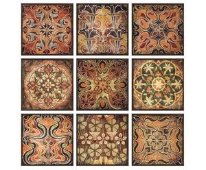 "Komplet 9 paneli dekoracyjnych ""Tuscan"""