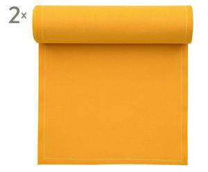 "Zestaw 2 rolek serwetek ""My Drap"", żółty"