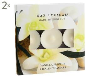 "Zestaw 18 tealightów ""Vanilla Flower"""