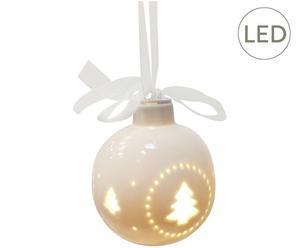 "Bombka LED ""White"", Ø 8 cm"