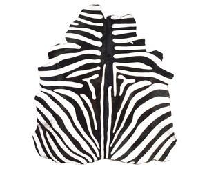 """Dywan """"Zebra Motif"""", biało-czarny"""