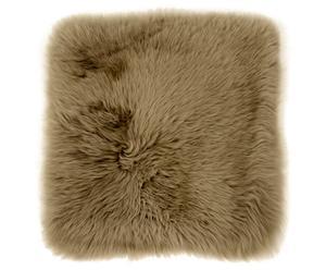 """Poszewka na poduszkę ze skóry owczej """"Martin Hellbraun"""", 40 x 40 cm"""