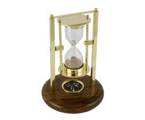 Klepsydra z kompasem