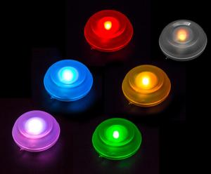 """Zestaw 6 lampek """"Bano"""", światło wielobarwne"""