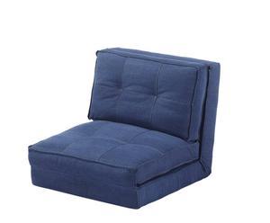 """Fotel rozkładany """"Cama"""", granatowy"""