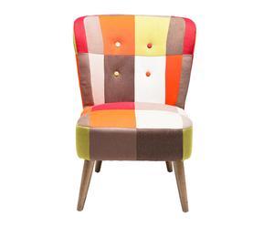"""Krzesło """"Patchwork"""", wielokolorowe"""