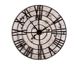 """Zegar ścienny """"Temps perdu"""", beżowo-brązowy"""