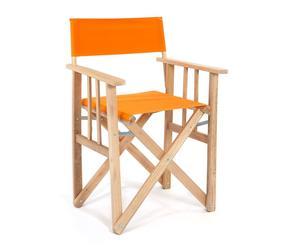 """Krzesło """"Director"""", pomarańczowe"""