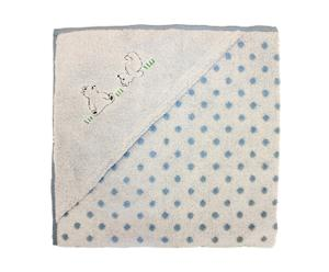 "Ręcznik z kapturkiem ""Bears"", jasnoniebieski"