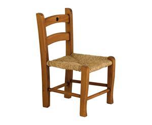 """Krzesło dla dziecka """"Nieve"""", brązowe"""