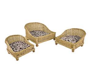 """Komplet 3 foteli dla psów i kotów """"Kennel"""""""
