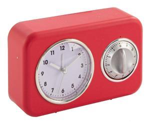 """Dekoracja-radio """"Vintage"""", czerwona"""