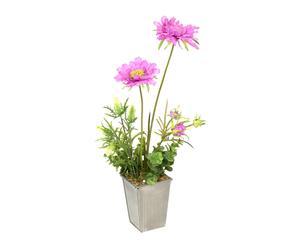 "Kwiat sztuczny ""Base Zinc Escabiosa"""