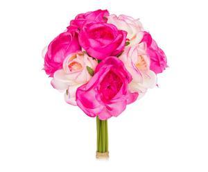"""Bukiet sztucznych kwiatów """"Ranunculo"""", różowy"""