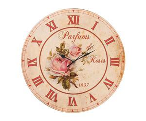 "Zegar ścienny ""Parfums de Rose"""