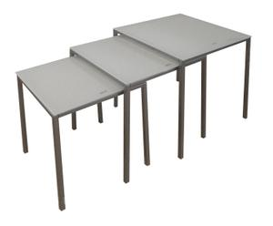 "Komplet 3 stolików ""NESTBLA"""