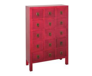 """Komoda """"Oriental"""", czerwona"""