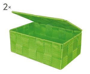 """Pudełko z pokrywką """"Lid"""", zielone"""