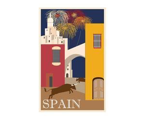 """Grafika na płótnie """"Spain"""""""