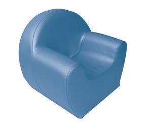 """Fotel dziecięcy """"Baby"""", niebieski"""