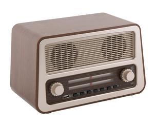 Radio Nostalgic con entrada USB