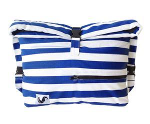 """Torba plażowa """"Blue Stripes"""", 36 x 34 cm"""