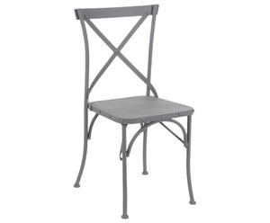"""Krzesło """"Cross"""", szare"""