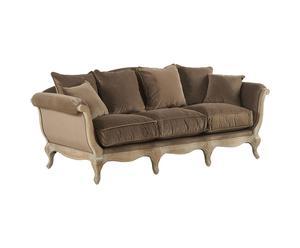 """Sofa """"Pompadour I"""", brązowa"""