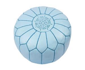 """Puf """"Marrakech"""", pudrowy błękit"""