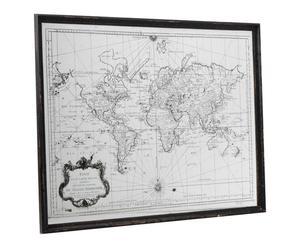 """Dekoracja ścienna """"Mapa Mundi"""""""