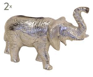 """Zestaw 2 dekoracji """"Elephanti"""""""