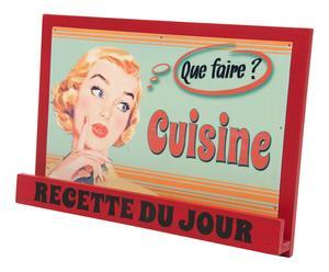 """Stojak na książki """"Cuisine"""", 21 x 30 x 15 cm"""