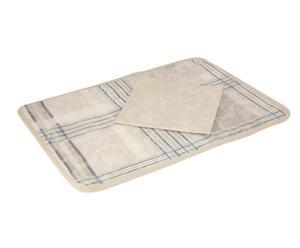 Zestaw serweta i podkładka obiadowa