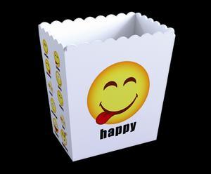 "Pojemnik na popcorn ""Happy"""
