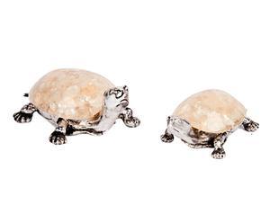 """Zestaw 2 dekoracji """"Turtle"""""""