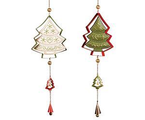 """Zestaw dwóch ozdób """"Christmas Tree"""""""