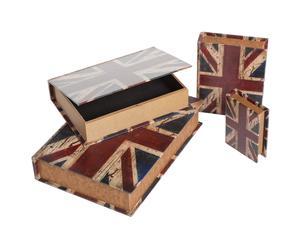 """Komplet szkatułek """"England"""""""