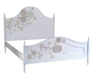 """Rama łóżka """"Dentelle"""", biała"""