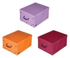 """Zestaw 3 pudełek """"Fuchsia"""""""