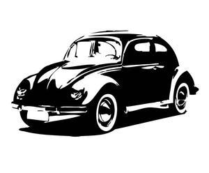 "Naklejka ścienna ""Beetle"""