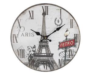 """Zegar ścienny """"Paris Sights"""" Ø 34 cm"""