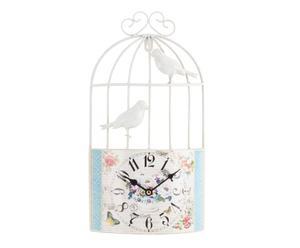 """Zegar ścienny """"Bird"""", wielokolorowy"""