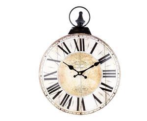 """Zegar ścienny """"Soleil"""", beżowo-brązowy"""