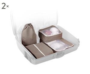 """Komplet 8 pokrowców podróżnych  """"Easy Bag"""" 50 x 35 cm"""
