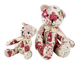 """Komplet 2 dekoracyjnych misiów """"Teddy"""""""