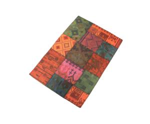 TAPPETO INDIANO KILIM PATCHWORK GUINNES  - 160x240 cm