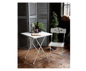 """Komplet stolik i 2 krzesła """"White Garden"""""""