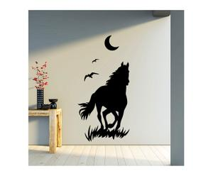 "Naklejka ścienna ""Horse and Moon"""